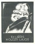 EX LIBRIS KOLOZS LAJOS (odkaz v elektronickém katalogu)