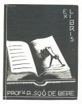 EX LIBRIS PROF. R. SOÓ DE BERE (odkaz v elektronickém katalogu)