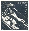 EX LIBRIS R de SOÓ (odkaz v elektronickém katalogu)