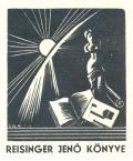 REISINGER JENÖ KÖNYVE (odkaz v elektronickém katalogu)