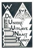 De Unieke Uitgave Naast Kunst (odkaz v elektronickém katalogu)