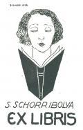 S. SCHORR IBOLYA EX LIBRIS (odkaz v elektronickém katalogu)