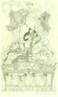 Exlibris EDGAR W.LANGE (odkaz v elektronickém katalogu)