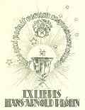 EXLIBRIS HANS-ARNOLD PLÖHN (odkaz v elektronickém katalogu)