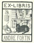 EX-LIBRIS ANDRE FORTIN (odkaz v elektronickém katalogu)