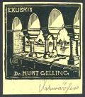 EXLIBRIS Dr. KURT GELLING (odkaz v elektronickém katalogu)