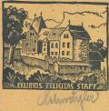 EXLIBRIS FELICITAS STAPF (odkaz v elektronickém katalogu)