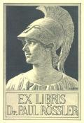 EX LIBRIS Dr. PAUL RÖSSLER (odkaz v elektronickém katalogu)