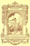 EX-LIBRIS JORDI MONSALVATJE (odkaz v elektronickém katalogu)