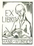 EX LIBRIS HANS - WUNDER (odkaz v elektronickém katalogu)