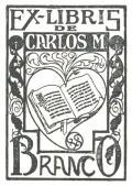 EX-LIBRIS DE CARLOS M. BRANCO (odkaz v elektronickém katalogu)