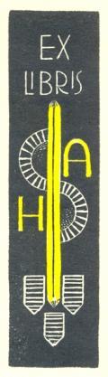 EX LIBRIS A.H.S. (odkaz v elektronickém katalogu)