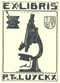 EX LIBRIS P.Th.LUYCKX (odkaz v elektronickém katalogu)