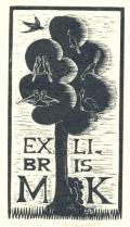 EX LIBRIS M.K. (odkaz v elektronickém katalogu)