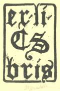 ex libris C.S. (odkaz v elektronickém katalogu)