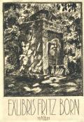 EXLIBRIS FRITZ BORN (odkaz v elektronickém katalogu)
