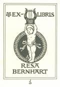 EX-LIBRIS RESA BERNHART (odkaz v elektronickém katalogu)
