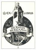 EX-LIBRIS DR. ANTON BERGMANN (odkaz v elektronickém katalogu)