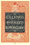 EX-LIBRIS RUDOLPH WARBURG (odkaz v elektronickém katalogu)