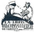 EX-LIBRIS Dris COLOMANNI-ARADY DE VIZKELET (odkaz v elektronickém katalogu)