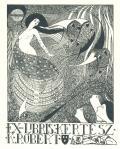 EX-LIBRIS KERTÉSZ K. RÓBERT (odkaz v elektronickém katalogu)