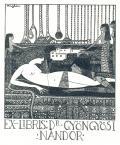 EX-LIBRIS Dr. GYÖNGYÖSI NÁNDOR (odkaz v elektronickém katalogu)