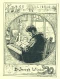 EX LIBRIS Dr. Joseph Winter (odkaz v elektronickém katalogu)