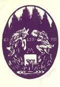 EX LIBRIS M.PIA (odkaz v elektronickém katalogu)