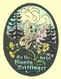 Ex libris Blanka Zeitlinger (odkaz v elektronickém katalogu)