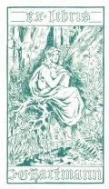 ex libris J.G. Hartmann (odkaz v elektronickém katalogu)