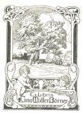 Ex Libris Lina Müller-Börner (odkaz v elektronickém katalogu)