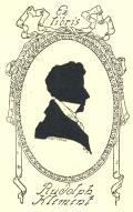 Ex libris Rudolph Klement (odkaz v elektronickém katalogu)