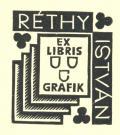 RÉTHY ISTVÁN EX LIBRIS GRAFIK (odkaz v elektronickém katalogu)