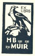 EX LIBRIS H.B.MUIR (odkaz v elektronickém katalogu)