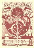 Ex libris CAECILIA WOLBRANDT geb. Linz (odkaz v elektronickém katalogu)