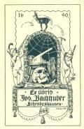 Ex libris Jos. Bachhuber Schrobenhausen (odkaz v elektronickém katalogu)