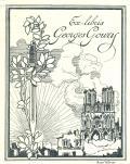 Ex-libris Georges Goury (odkaz v elektronickém katalogu)