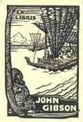 EX LIBRIS JOHN GIBSON (odkaz v elektronickém katalogu)