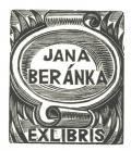 JANA BERÁNKA EXLIBRIS (odkaz v elektronickém katalogu)