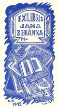 EXLIBRIS JANA BERÁNKA N= (odkaz v elektronickém katalogu)