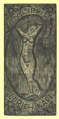 EX LIBRIS OLDŘICH KAREL (odkaz v elektronickém katalogu)
