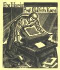 Ex libris Prof.Oldřich Karel (odkaz v elektronickém katalogu)