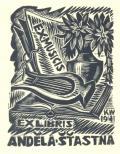 EX MUSICIS,EX LIBRIS ANDĚLA ŠŤASTNÁ (odkaz v elektronickém katalogu)