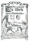 Ex libris Franz Baumann Wien NR.: ES WAR EINMAL (odkaz v elektronickém katalogu)