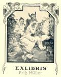 EXLIBRIS  Fritß Müller (odkaz v elektronickém katalogu)