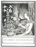 EX LIBRIS IOHANNA HAUER (odkaz v elektronickém katalogu)