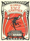 EX LIBRIS E.W.J.GÄRTNER (odkaz v elektronickém katalogu)