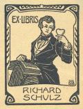EX LIBRIS RICHARD SCHULZ (odkaz v elektronickém katalogu)