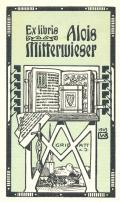 Ex libris Alois Mitterwieser (odkaz v elektronickém katalogu)