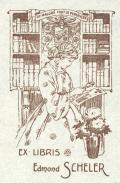 EX LIBRIS Edmond SCHELER (odkaz v elektronickém katalogu)